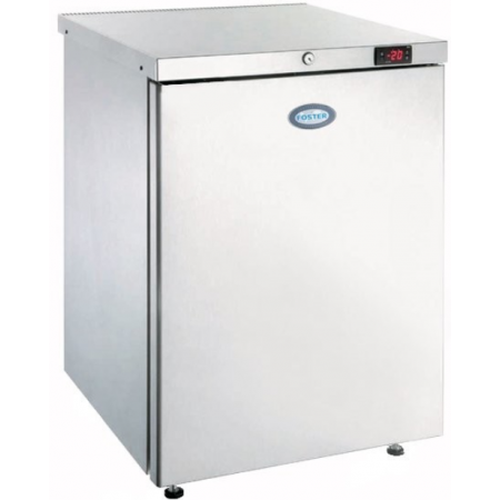 Under Counter Freezer, Stainless Steel.